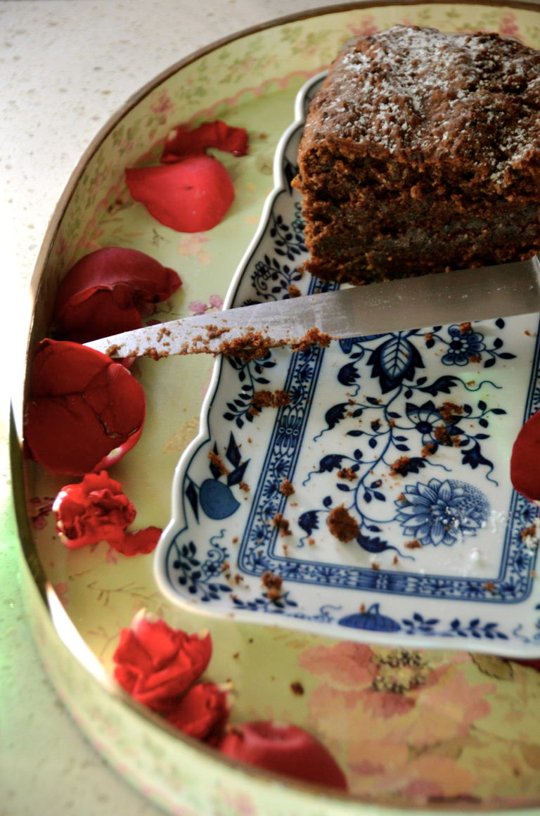 Gowings Hazelnut, spelt and cacao cake