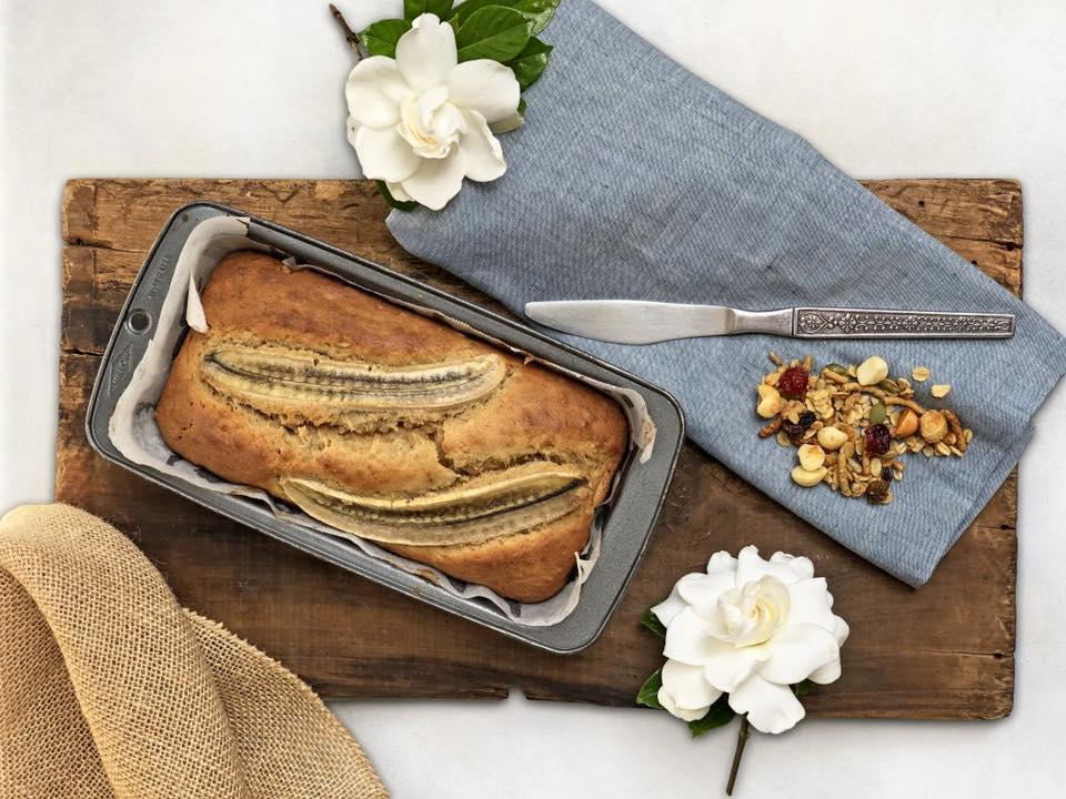 Brookfarm Cranberry Macadamia Banana Loaf