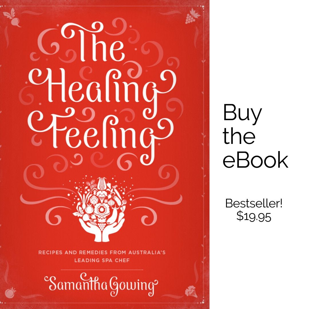 Samantha Gowing The Healing Feeling best selling ebook 19.95